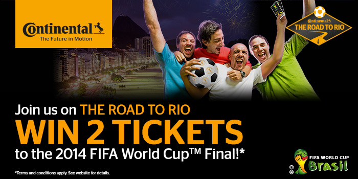 Join the Road to Rio